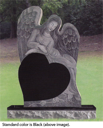 Angel headstone memorial tattoo pictures